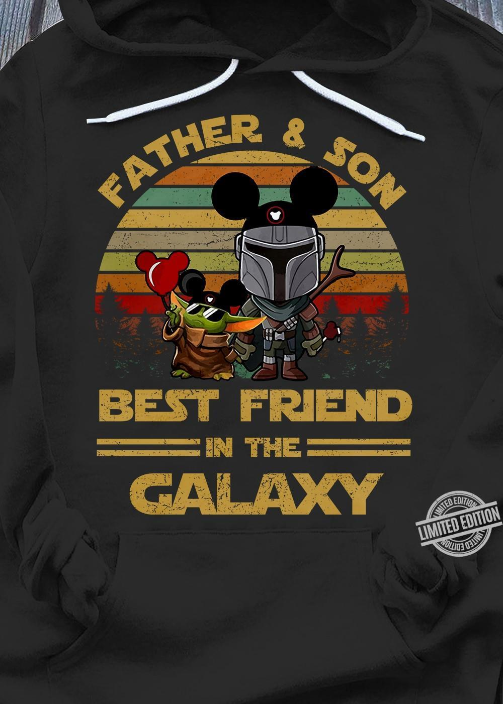 Father & Son Best Friend In The Galaxy Shirt