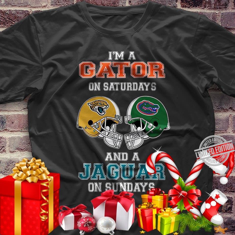 I'm A Gator On Saturdays And A Jaguar On Sundays Shirt