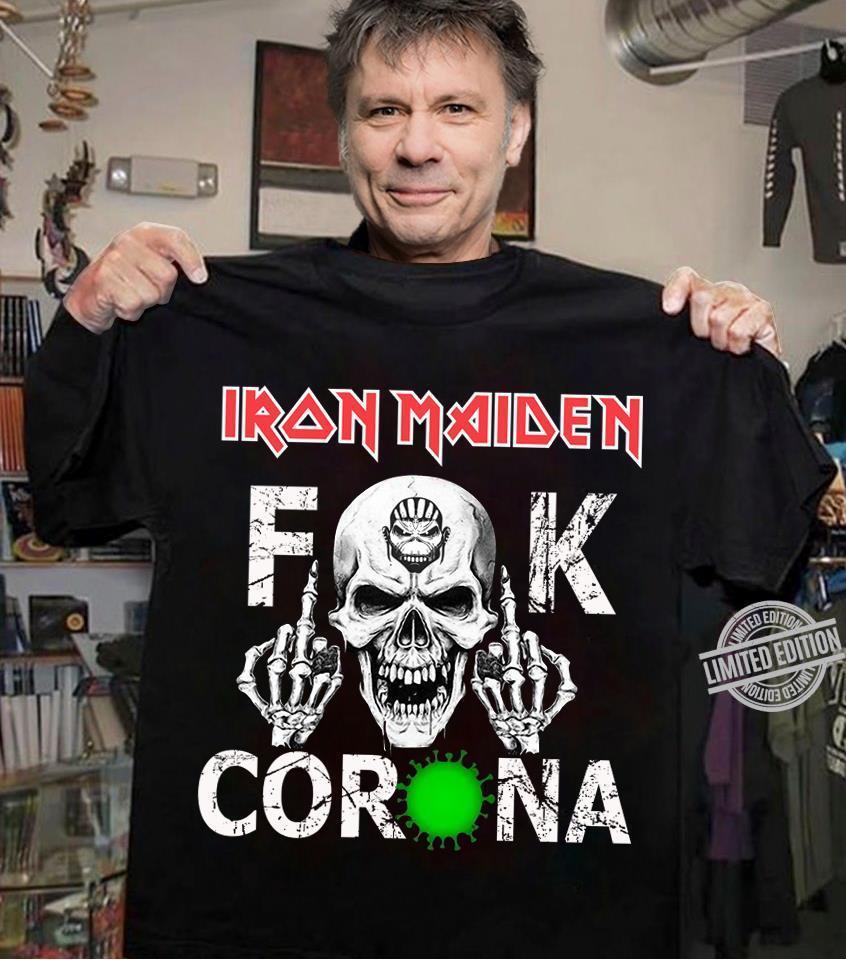 Iron Maiden Fuck Coronavirus Shirt