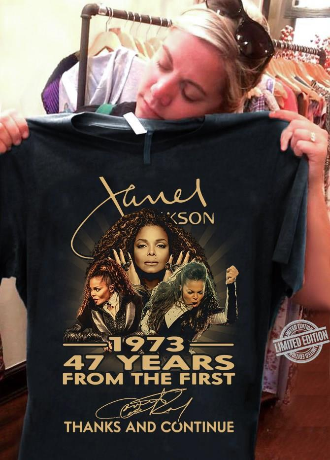 James Jackson 1973 47 Years From The First Thanks And Continue Shirt