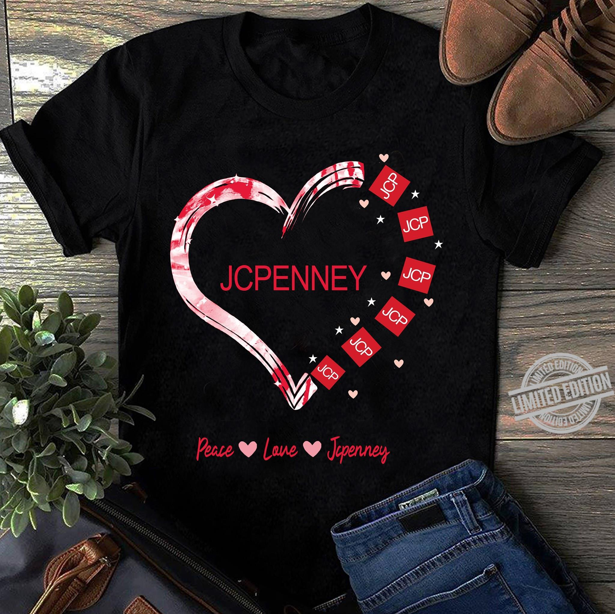Jcpenney Peace Love Jcpenney Shirt