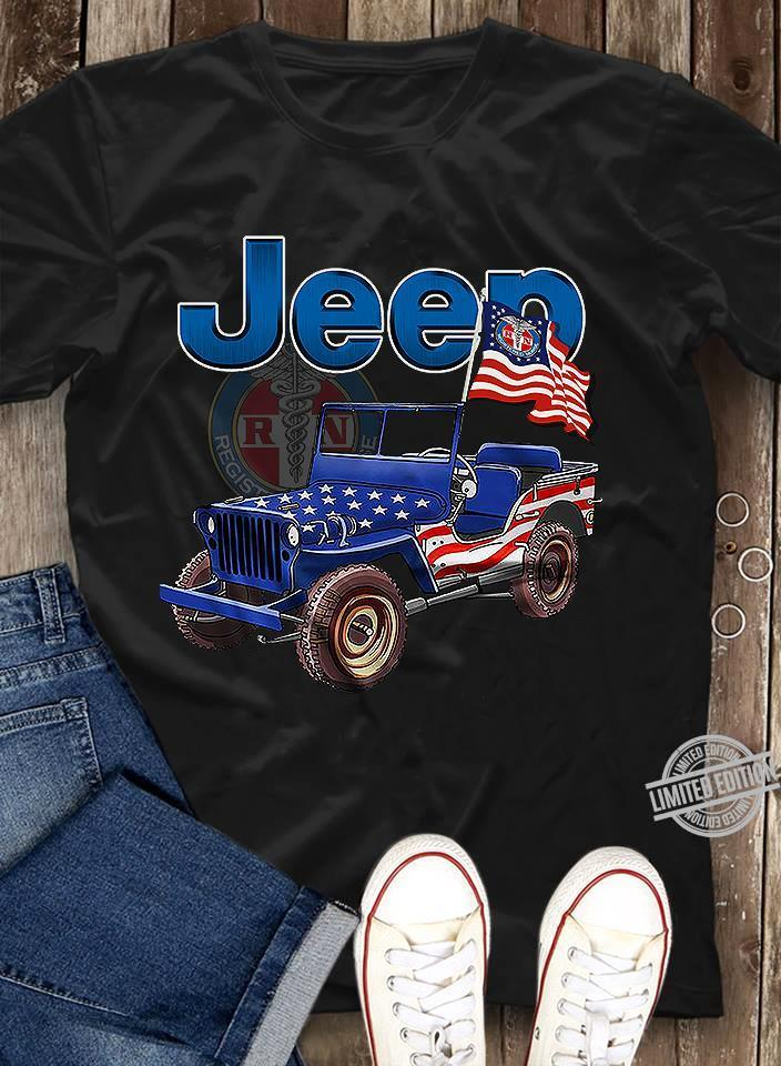 Jeep Of American Shirt