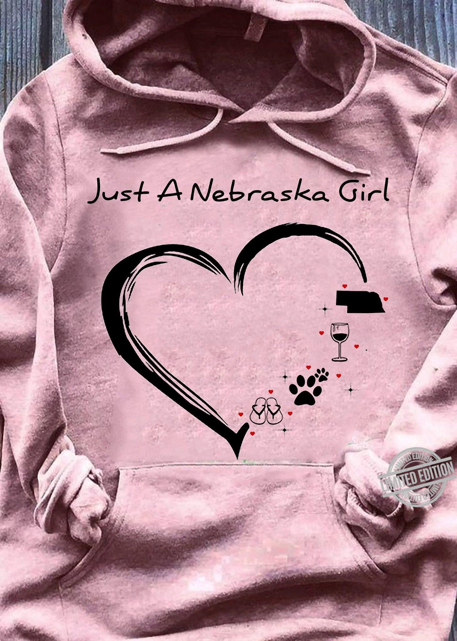 Just A Nebraska Girl Shirt