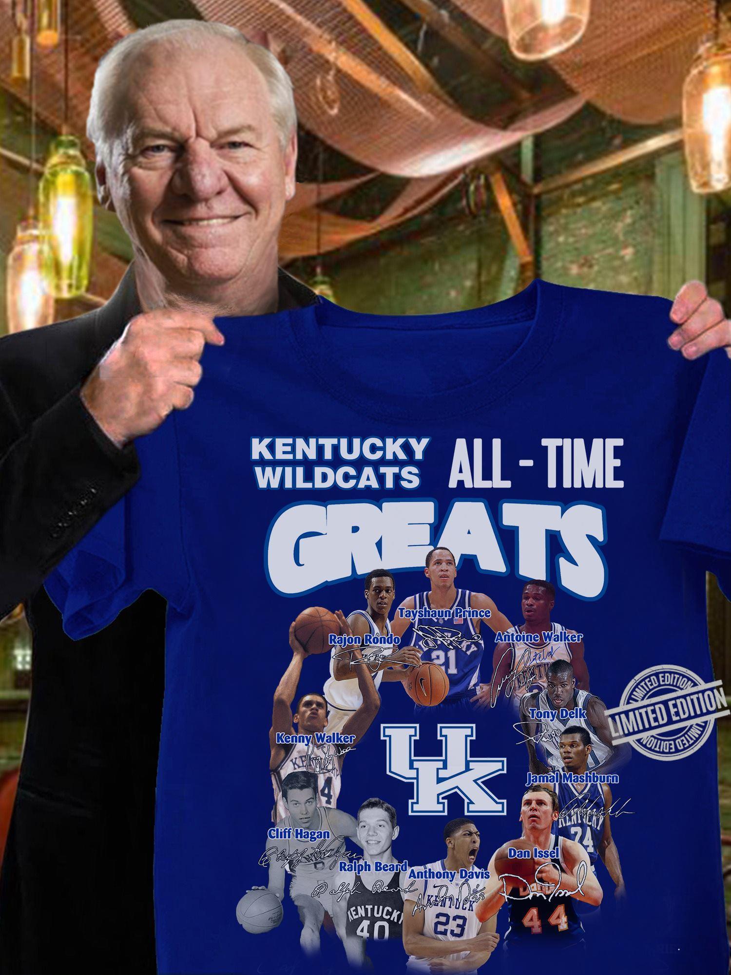 Kentucky Wildcats All-Time Greats Shirt