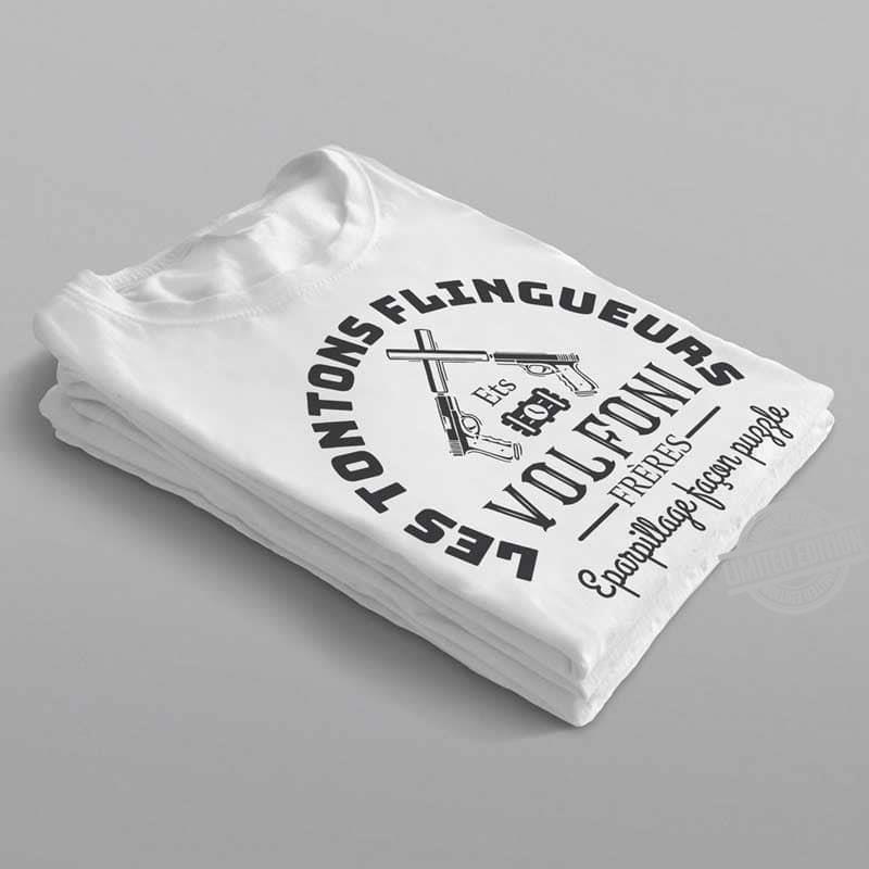 Les Tontons Flingueurs Vol Foni Freres Shirt